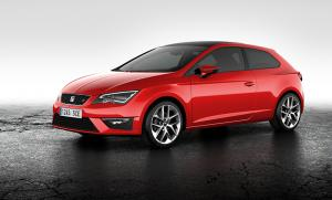 The new Seat Leon SC Sports Coupe