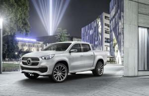 Mercedes-Benz Concept X-Class 'stylish explorer'