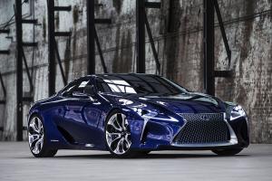 Lexus LF-LC 2+2 hybrid sports coupe concept