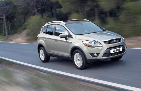 Ford adds 2.0-litre TDCi and 2.5-litre Duratec to Kuga range