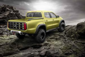 Mercedes-Benz Concept X-Class 'powerful adventurer'