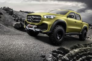 Mercedes-Benz Concept X-Class previews new pickup