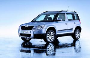 Skoda Yeti unveiled at Geneva
