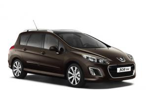 The new Peugeot 308 SW