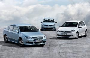 New VW Polo, Golf and Passat BlueMotion