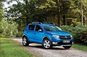 Dacia Sandero Stepway available to order 1st Jan 2013 priced from £7,995