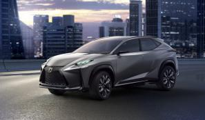 Lexus LF-NX concept to debut 2.0-litre turbo petrol engine