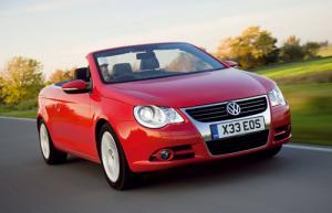 VW Eos BlueMotion available now