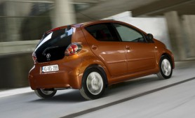 The new 2012 Toyota Aygo