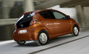The new 2012 Toyota Aygo