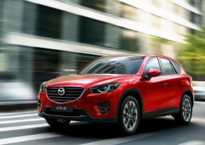 Mazda CX-5 upgraded for 2015 model year