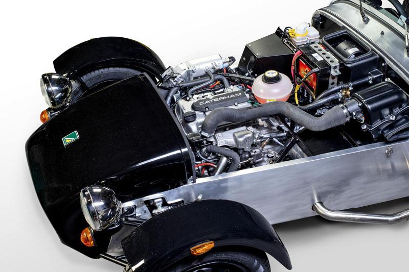 New Caterham Seven with 660c Suzuki three-cylinder turbo engine