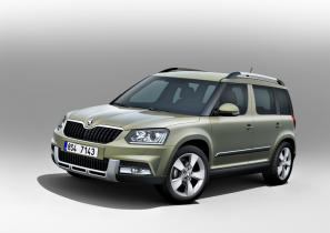New Skoda Yeti available in two variants
