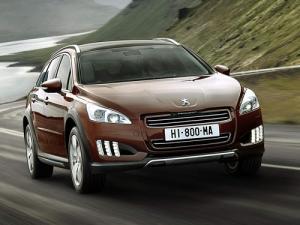 The new Peugeot 508 RXH