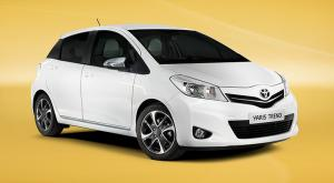 Toyota Yaris Trend introduced for 2013