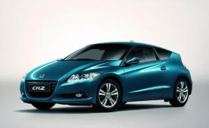 European Honda CR-Z hybrid coupe to debut at Geneva