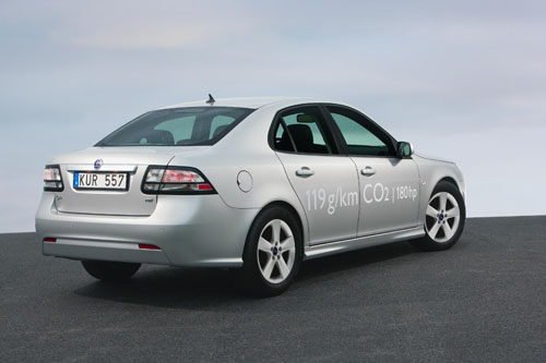 New Saab 9-3 twin-turbo diesels give CO2 emissions of just 119 g/km