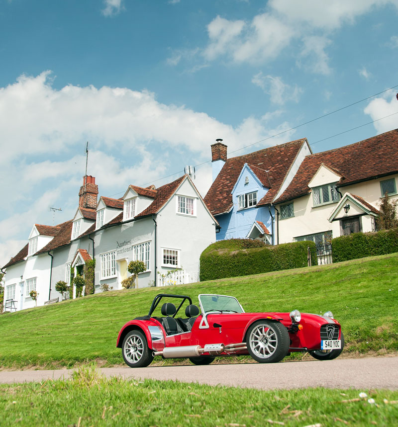Caterham Seven '40 Years Of Caterham' Limited Edition Pack