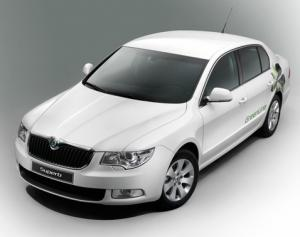Skoda Superb GreenLine on sale now