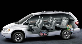 Chrysler Voyager gains Stow 'n Go seating