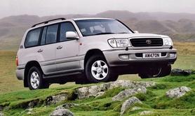 Toyota Land Cruiser Amazon now with optional DVD entertainment