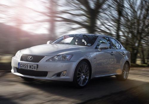 Lexus IS F-Sport model to celebrate 20 years in UK