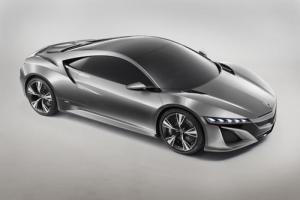 Honda unveils concept for the next Honda NSX
