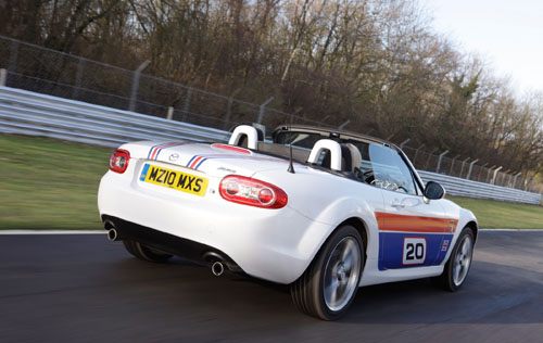 Mazda launches Limited Edition MX-5 to celebrate 20th Anniversary