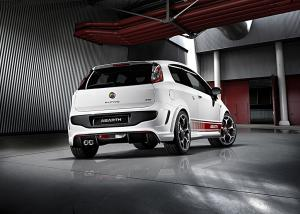 The new Abarth Punto Evo