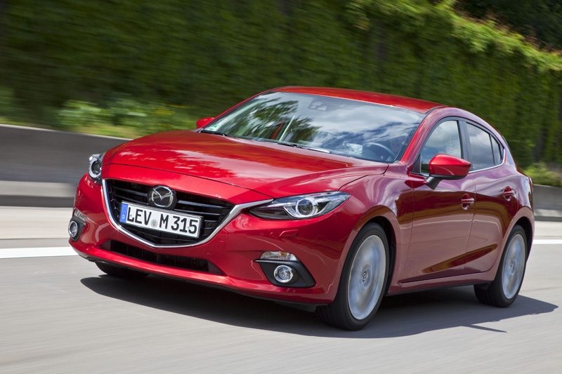 New Mazda 3 on sale January 2014 priced from £16,695 | TestDriven