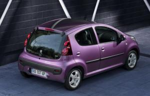 The new Peugeot 107