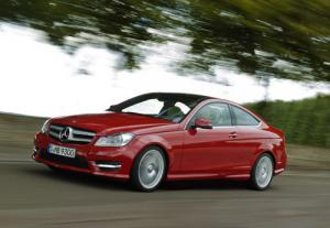The Mercedes C-Class Coupe