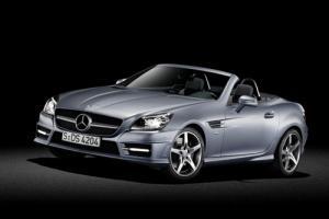 The new 2011 Mercedes-Benz SLK Roadster