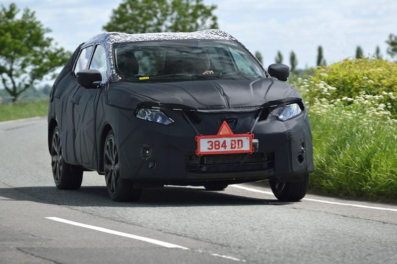 2014 Nissan Qashqai in testing