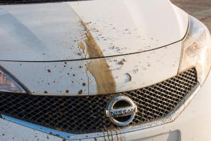 Nissan develops the self-cleaning car