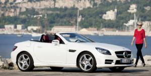 The new Mercedes SLK 250 CDI