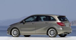 The new 2012 Mercedes-Benz B-Class