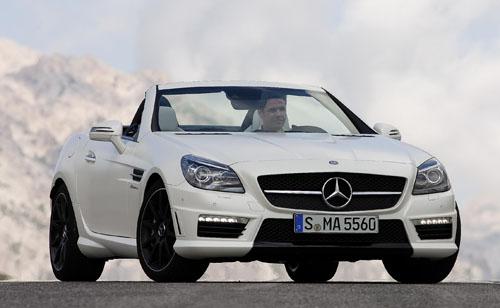 The new Mercedes-Benz SLK 55 AMG