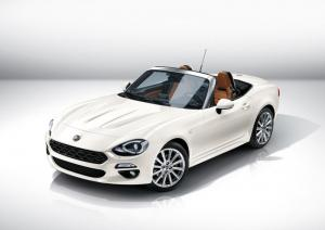 New Fiat 124 Spider officially unveiled
