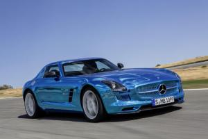 Mercedes-Benz SLS AMG Coupe Electric Drive may come to the UK