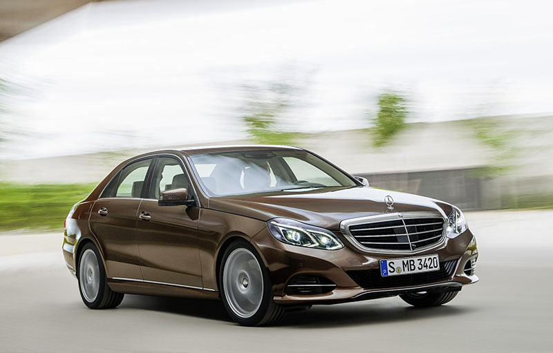 The new 2013 Mercedes-Benz E-Class