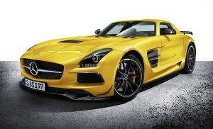 The new Mercedes-Benz SLS AMG Coupe Black Series – 631 hp and 196 mph