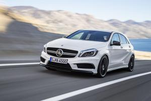 The new Mercedes-Benz A-Class A45 AMG