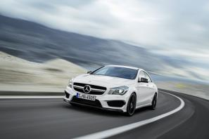 The new Mercedes-Benz CLA 45 AMG