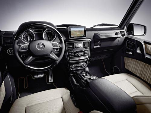 The 2012 Mercedes-Benz G-Class
