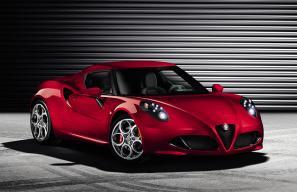 Alfa Romeo 4C to make its production debut at Geneva