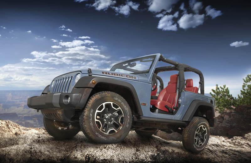 The Jeep Wrangler Rubicon 10th Anniversary Edition