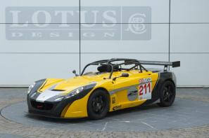 The Lotus Sport 2-Eleven GT4 Supersport race car