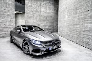 New Mercedes S-Class Coupe unveiled