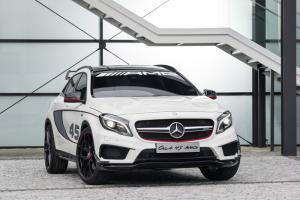 Mercedes GLA 45 AMG Concept unveiled